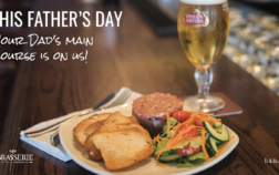 Father's Day at De Brasserie